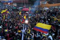 Demonstrations continue demanding government action, in Bogota