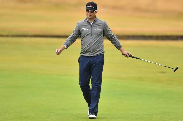 Zach Johnson won the British Open at St Andrews in 2015
