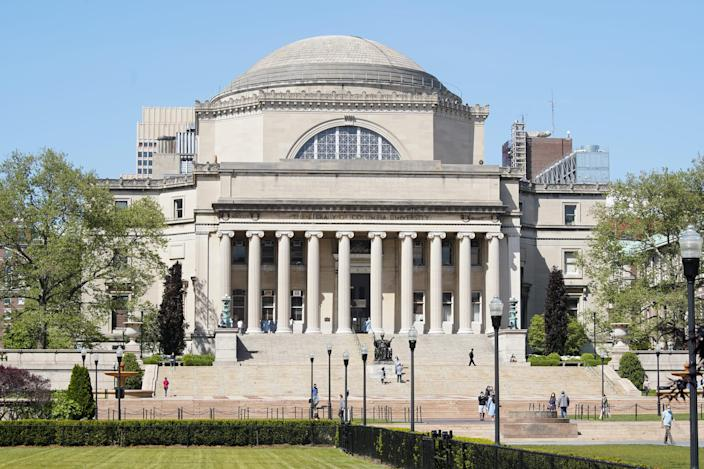 The Columbia University campus is seen on May 21, 2020.