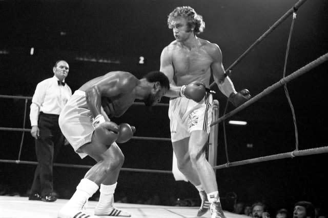 Joe Bugner (right) fought twice against Muhammad Ali (PA Archive)