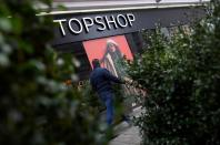 Closed branch of Topshop seen, after the British online fashion retailer ASOS said it has bought the brand amongst others from the collapsed Arcadia group, London, Britain