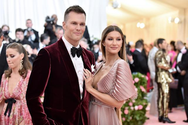 Tom Brady and Gisele Bündchen have a new home in Tampa. (Photo by Theo Wargo/WireImage)