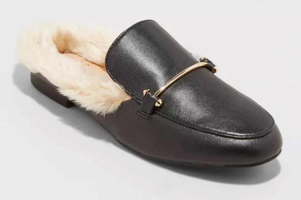 loafers, furry, target
