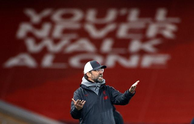 Liverpool's away form is a concern for manager Jurgen Klopp