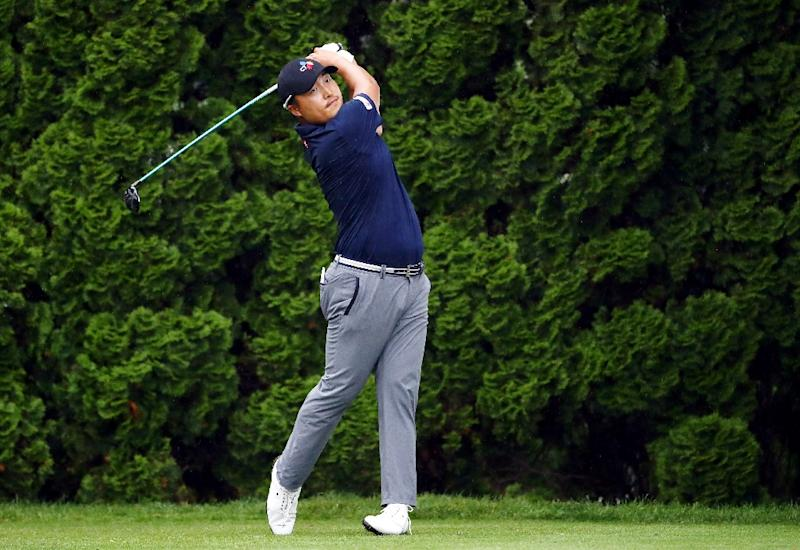 Sucher, seeking first PGA win, leads Travelers