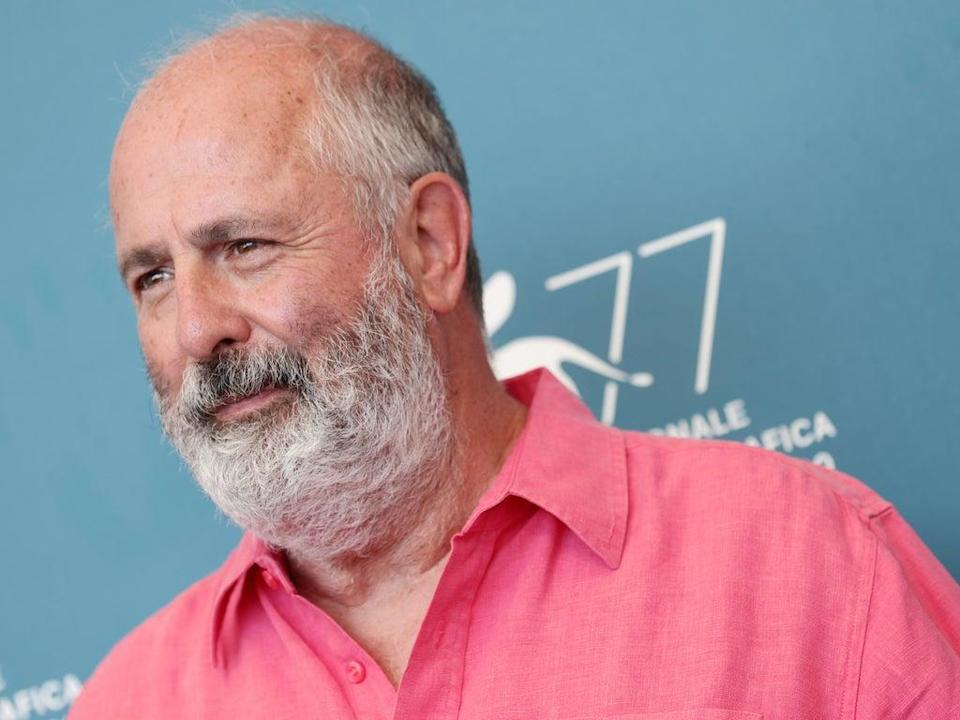 Roger Michell attends the photocall of the movie 'The Duke' at the 77th Venice Film Festival on 4 September 2020 in Venice, Italy (Vittorio Zunino Celotto/Getty Images)