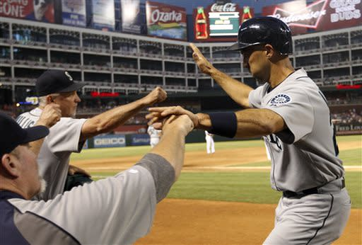 Seager HR in 10th lifts Mariners over Rangers 4-2