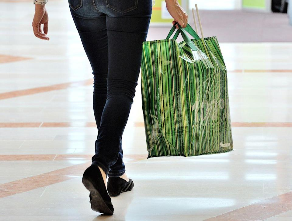 <p>Even if you're not overly concerned with saving the environment by your minimizing paper bag usage, bringing your own tote is totally worth it. If you bring one from home, make sure to ask the cashier to enter the store raffle—weekly drawing winners can snag $25 gift cards.</p>