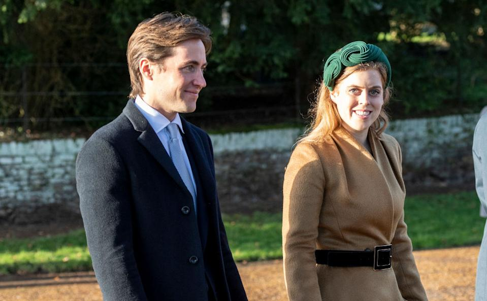 Princess Beatrice and Edoardo Mapelli Mozziconi will get married in May (Getty Images)