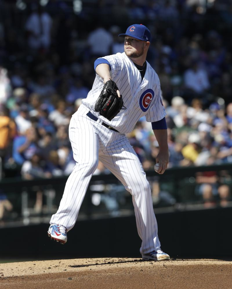 Jon Lester Using 'Jordan-To-Pippen Bounce' On Throws To First