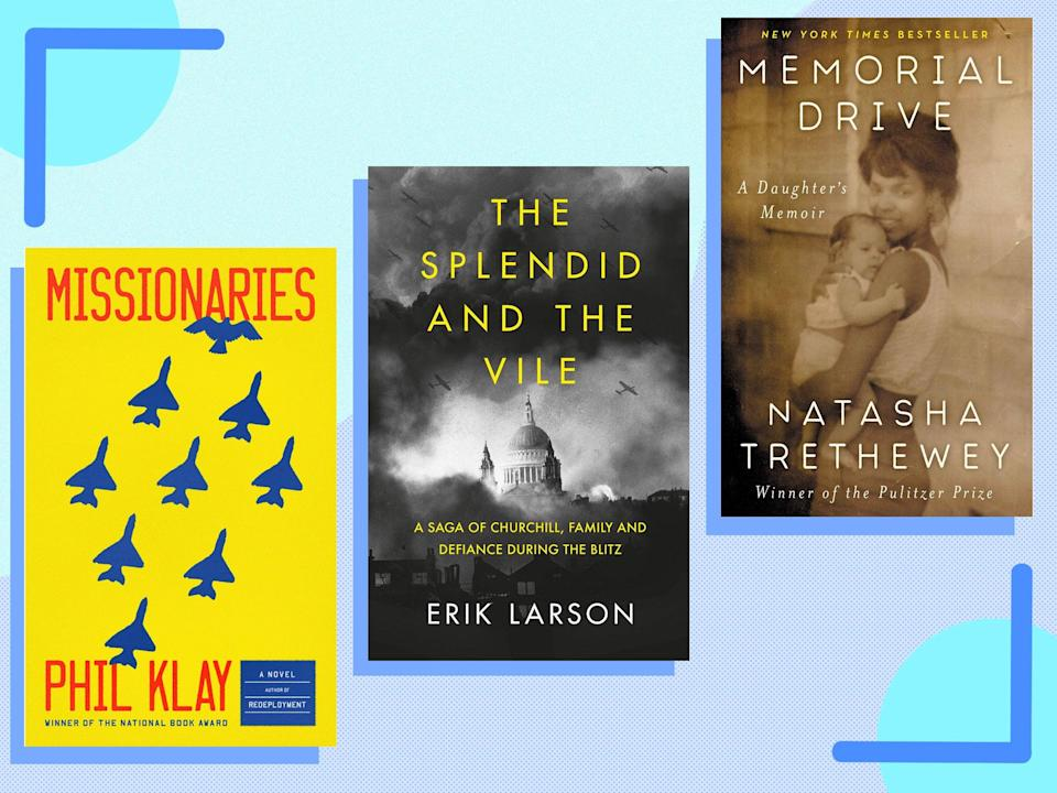 <p>This curated round-up is an eclectic mix of fiction, non-fiction and memoirs</p> (The Independent)