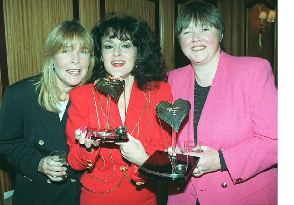 <p>The Birds of a Feather cast. From left to right Linda Robson, Lesley Joseph and Pauline Quirke.</p> (pa)
