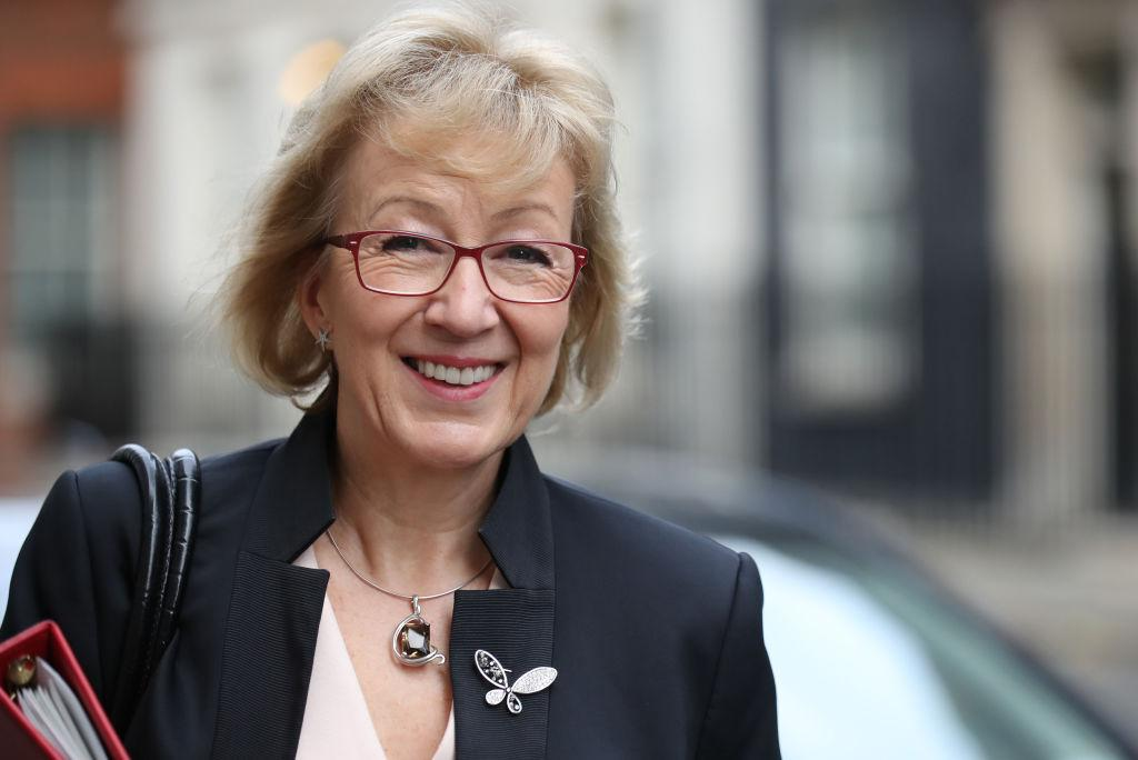 """<p><span>Following a failed bid for the Tory leadership in 2016, Leadsom briefly served as Environment Secretary before becoming Leader of the House of Commons following June's snap election. What followed was an </span><a rel=""""nofollow"""" href=""""https://uk.news.yahoo.com/andrea-leadsom-calls-jane-austen-one-britains-greatest-living-authors-150043343.html""""><span>almighty gaffe</span></a><span> when commenting on the launch of the new £10 note featuring an image of Jane Austen, with the politician referring to the famously long-dead writer as """"one of our greatest living authors"""". Leadsom was later </span><a rel=""""nofollow"""" href=""""https://uk.news.yahoo.com/andrea-leadsom-accused-failing-act-094102917.html""""><span>accused of failing to act</span></a><span> on a rape allegation that was reportedly made against a senior Conservative Party member earlier this year. </span>(Getty) </p>"""