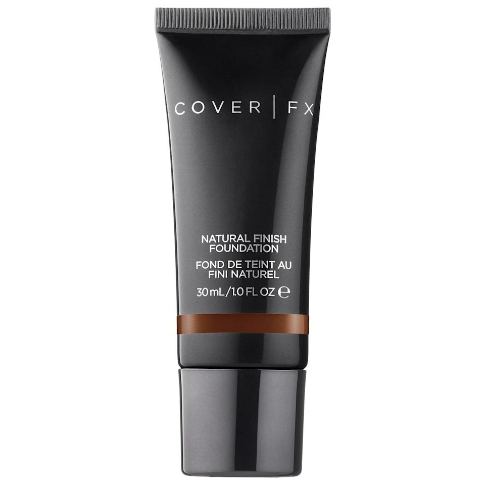 <p>The <span>Cover FX Natural Finish Foundation</span> ($21, originally $42) is the perfect daily wear foundation. </p>