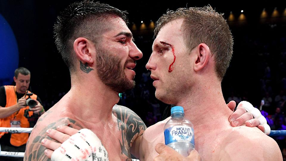 Michael Zerafa is still filthy about the manner in which he lost a 2019 fight against Jeff Horn. Pic: Getty