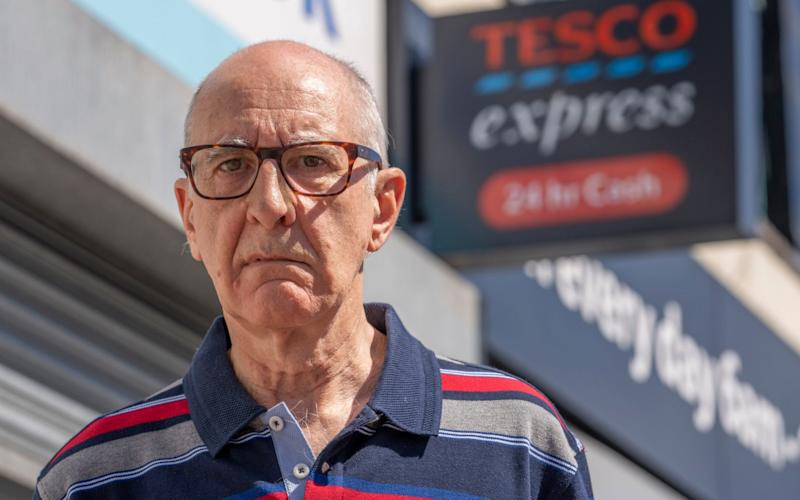 David Cox thought he could count on Tesco to keep its email service running   - Andrew Crowley