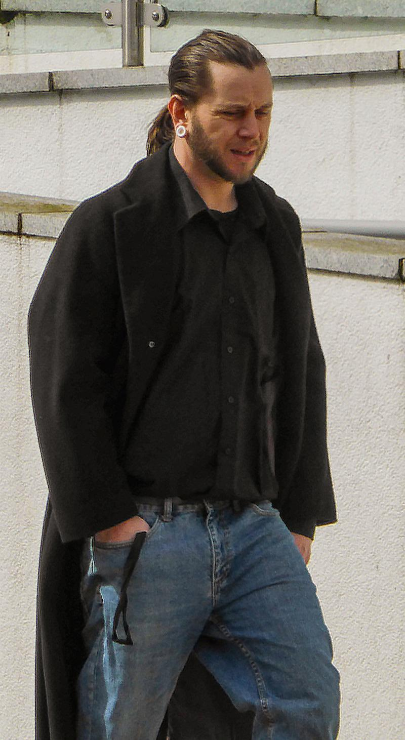 James Kipps-Bolton pictured outside court in April 2018. He pleaded not guilty to the charges.