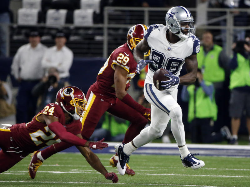 Dez Bryant, released by the Cowboys, is now interested in signing with the Redskins and other NFC East teams.