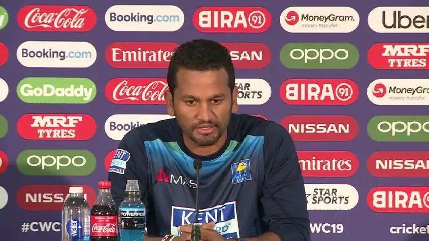 Karunaratne also backed Rhodes's suggestion on having reserve days in world cup games.