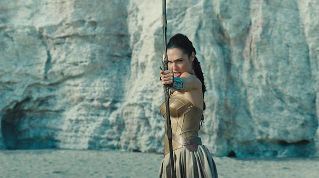 <p>Over the objections of her mother, Diana seeks to learn how to fight under the tutelage of her aunt, the mighty Antiope (Robin Wright). (Photo: Warner Bros.) </p>