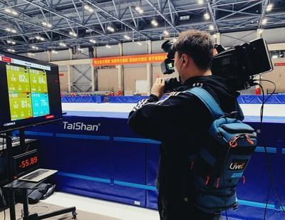 Tencent Brings Speed Skating Race Live to Viewers in China using LiveU technology.