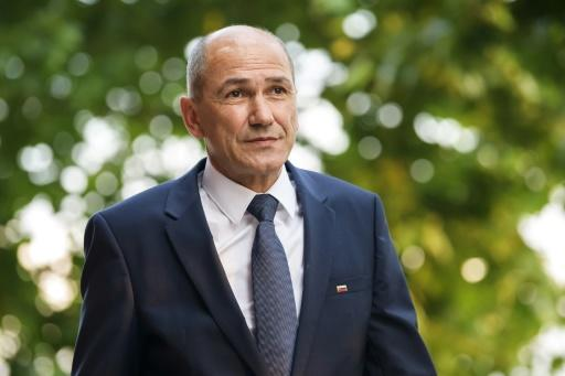 Janez Jansa, former Slovenian prime ministre and head of the anti-migrant Slovenian Democratic Party, is known for his attacks on Twitter against opponents and the media