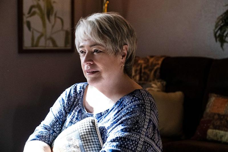 Kathy Bates as Bobi Jewell in Richard Jewell | Claire Folger