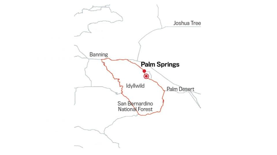 PALMS TO PINES SCENIC BYWAY: PALM DESERT TO BANNING