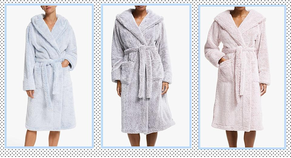 Searching for a new dressing gown? Check this one out! (John Lewis & Partners)