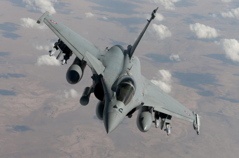 France's Rafale fighter jets took part in the raid on a jihadist training centre situated in the Kirkuk region of northern Iraq
