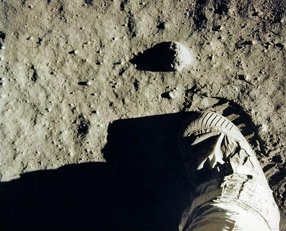 Staying afoul of footprints on the moon is a concern of those advocating protection of the Apollo 11 landing spot.