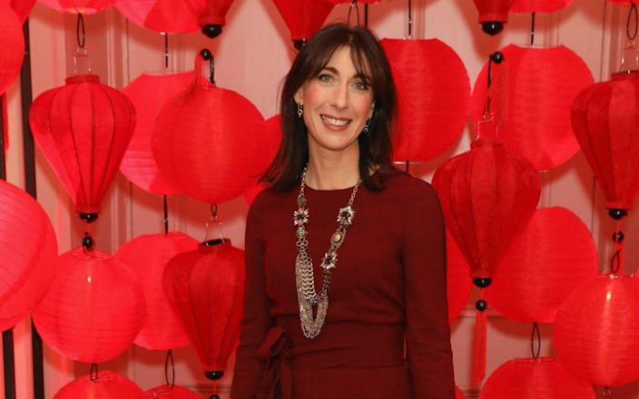 Even slender Samantha Cameron noticed a difference when she was in her mid-40s - Darren Gerrish/Getty