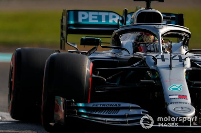 """2019: Mercedes AMG F1 W10 <span class=""""copyright"""">Zak Mauger / Motorsport Images</span>"""