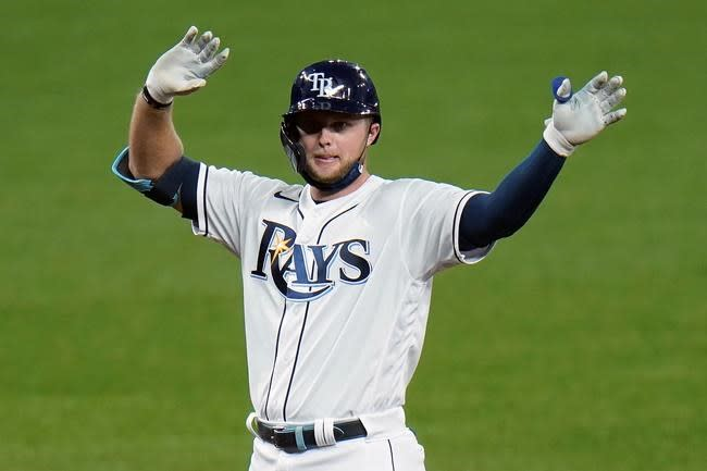 Rays add All-Star OF Meadows to ALDS roster vs. Yankees