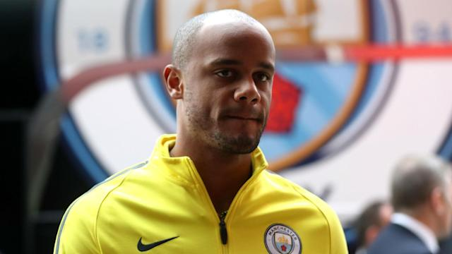 Vincent Kompany will start a first Premier League game of 2017 and only his third of the season when Manchester City face Chelsea.