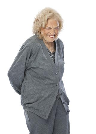 Johnnie Mae Young, a pioneering female wrestler and World Wrestling Entertainment Hall of Fame member, is pictured in this World Wrestling Entertainment, Inc. photo released to Reuters on January 15, 2014. REUTERS/WWE/Handout via Reuters