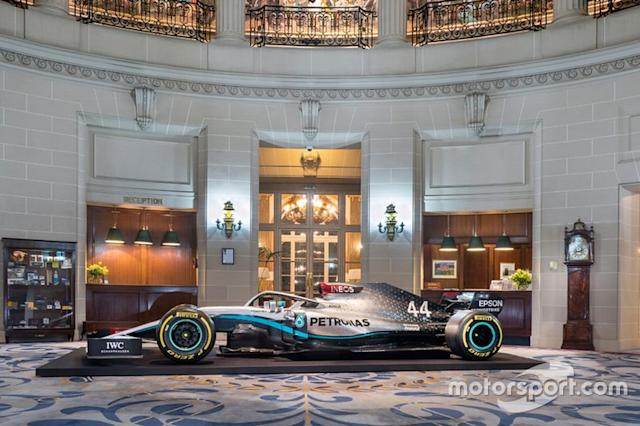 "Mercedes AMG F1 livery <span class=""copyright"">Mercedes AMG</span>"