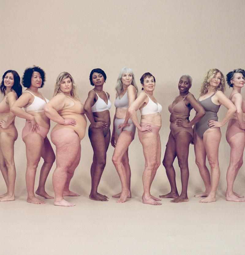 Knix debuted the first-ever lingerie campaign featuring models over 50. (Image via Knix. Photo by Sise Drummond).