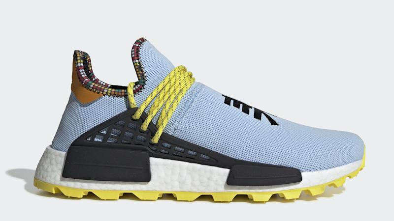 eec6bc278afd7 Pharrell Williams  Latest Adidas SolarHu NMDs Are Arriving in 4 New  Colorways