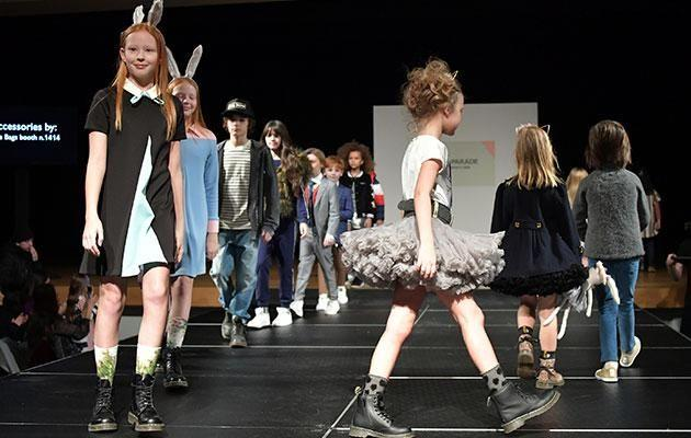 High fashion is no longer just for child models. Source: Gety