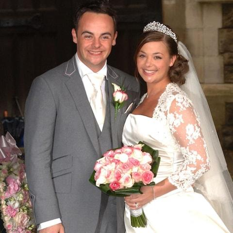 Ant McParlin and Lisa Armstrong have been married for 11 years but announced their split in Januray - Credit: PA