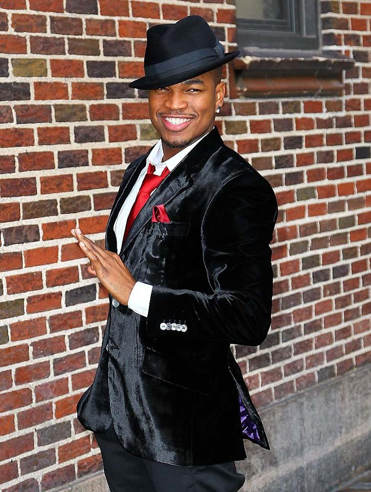 """R&B singer-songwriter Ne-Yo and his girlfriend Monyetta Shaw had an unexpected surprise when their baby girl Madilyn Grace Smith arrived early on November 12 -- she had been due to arrive in January. """"I've been in love before but this feels like nothing I've ever felt. Like I'm in love for the first time,"""" said Ne-Yo in an official statement. Jeffrey Ufberg/ WireImage.com - November 17, 2010"""