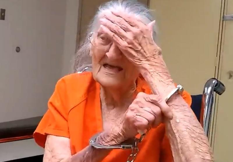 93-year-old woman handcuffed and jailed after refusing to leave her care home