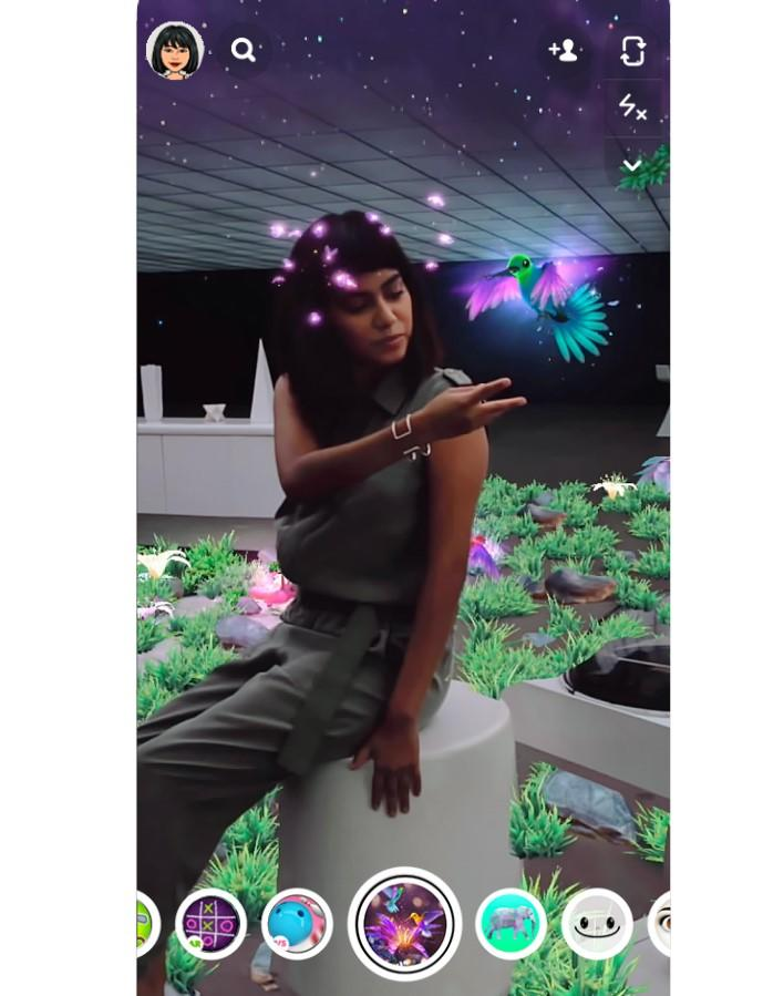 Snapchat using LiDAR for augmented reality lenses