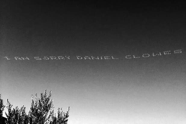 Shia LaBeouf's Sky-Writing 'Apology' to Daniel Clowes Keeps the Attention Rolling, Clears Up Nothing