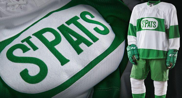 View photos. The Maple Leaf will wear these St. Pats ... a1e2362d1