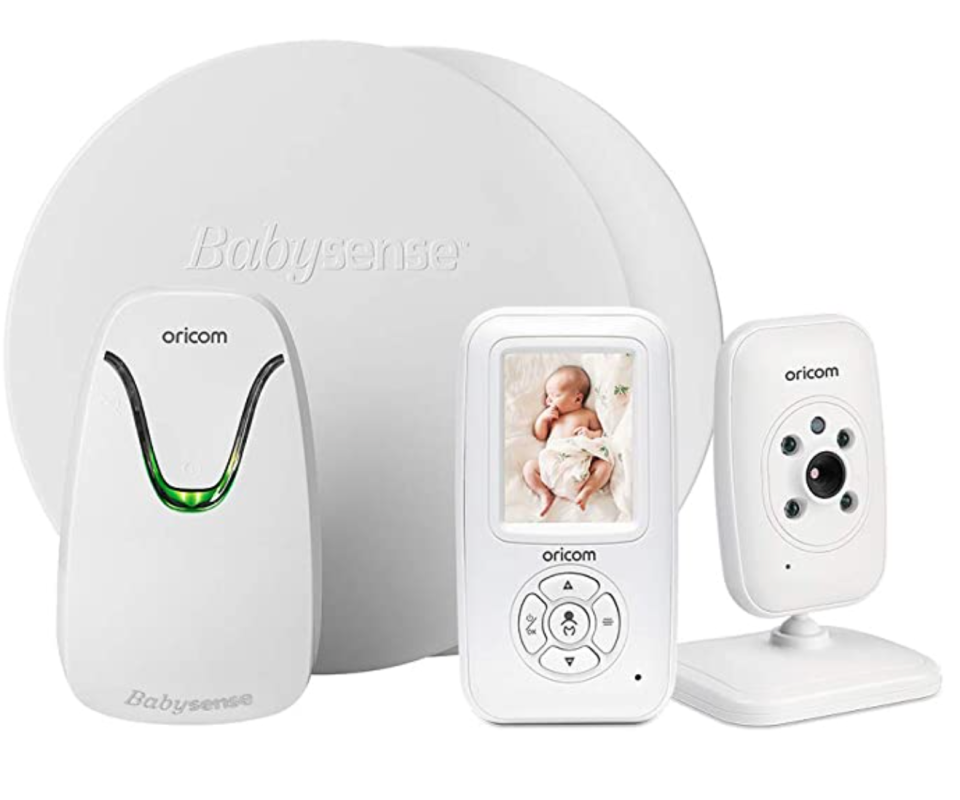 Oricom Secure715 Baby Monitor and room temperature sensors