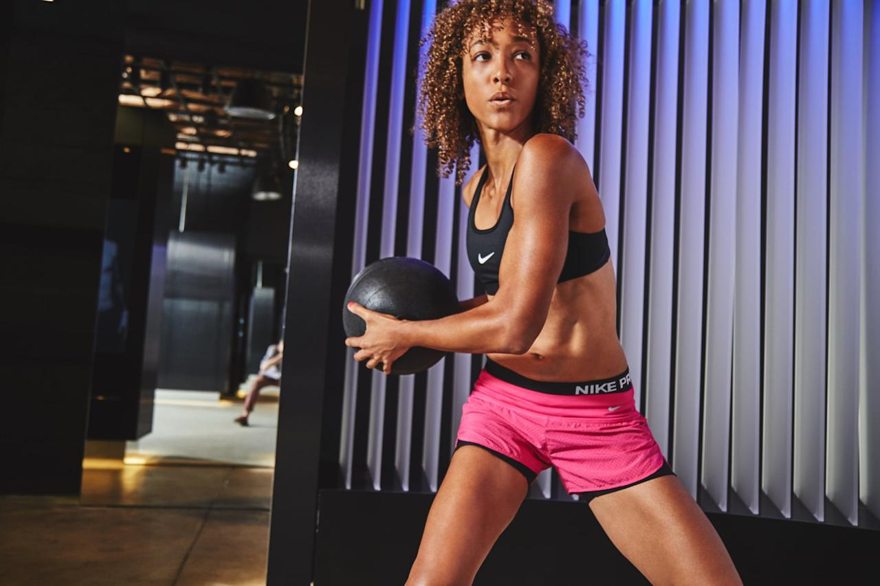"""<p>Check that your gym offers the specific machines and equipment you'll need (like a large selection of <a href=""""https://www.popsugar.com/fitness/Best-Dumbbell-Arm-Exercises-35176832"""" class=""""ga-track"""" data-ga-category=""""Related"""" data-ga-label=""""https://www.popsugar.com/fitness/Best-Dumbbell-Arm-Exercises-35176832"""" data-ga-action=""""In-Line Links"""">free weights</a>), as well as any amenities you prefer (an indoor track, pool, or sauna).</p>"""