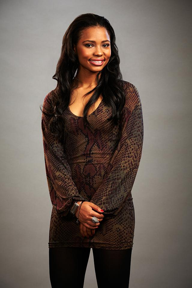 "Jamila Thompson joins Team Usher on ""The Voice"" Season 4."