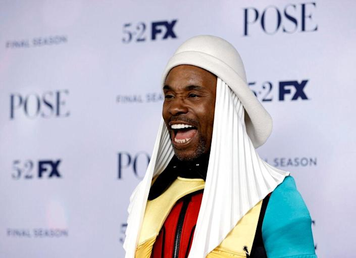 """NEW YORK, NEW YORK – APRIL 29: Billy Porter attends the FX's """"Pose"""" Season 3 New York Premiere at Jazz at Lincoln Center on April 29, 2021 in New York City. (Photo by Jamie McCarthy/Getty Images)"""
